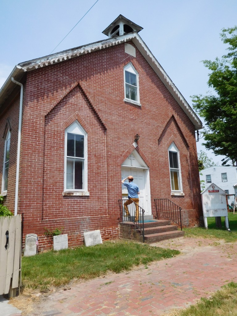 Mouth Salem Methodist Episcopal Church, New Castle, Delaware (May 2015)