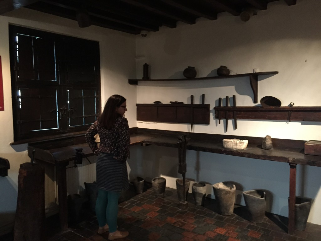 Type-making Supplies at Museum Plantin-Moretus, Antwerp, Belgium, June 2015
