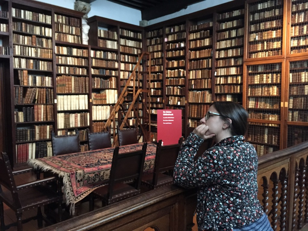 A Snapshot of the Library at Museum Plantin-Moretus, Antwerp, Belgium, June 2015