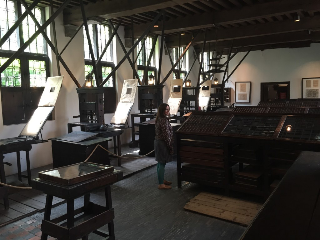 The Printing Presses at Museum Plantin-Moretus, Antwerp, Belgium, June 2015