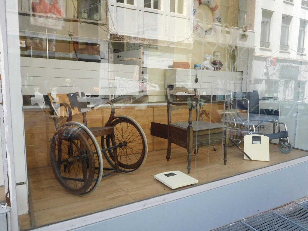 One Portion of Fremineur-Medical's Window Display in Brussels, Belgium (June 2015)