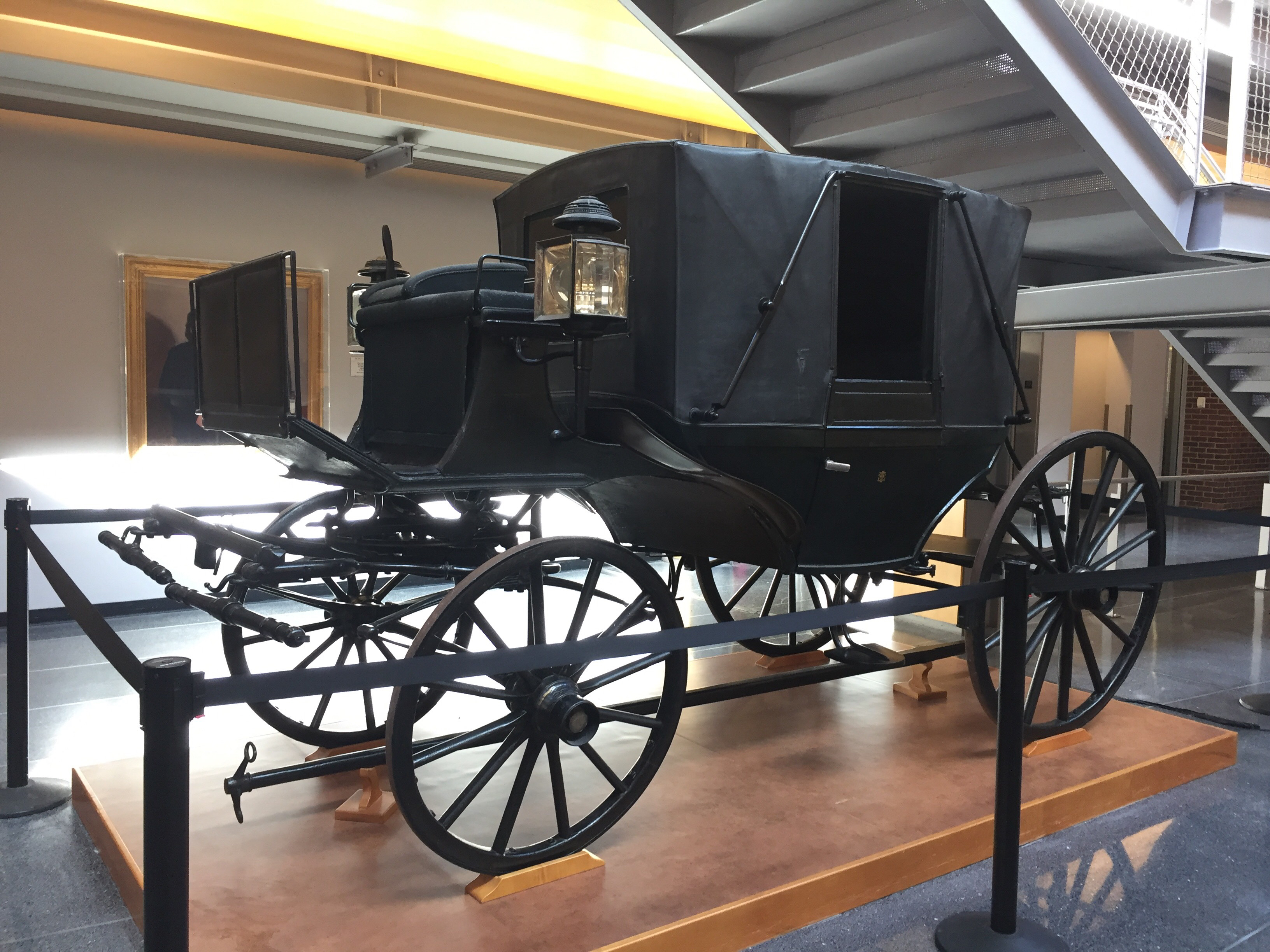 Thomas W. Evans's Landau Carriage, ca. 1860, Labourdette (Paris), #1912.0005.0218, University of Pennsylvania. Thomas W. Evans Collection.
